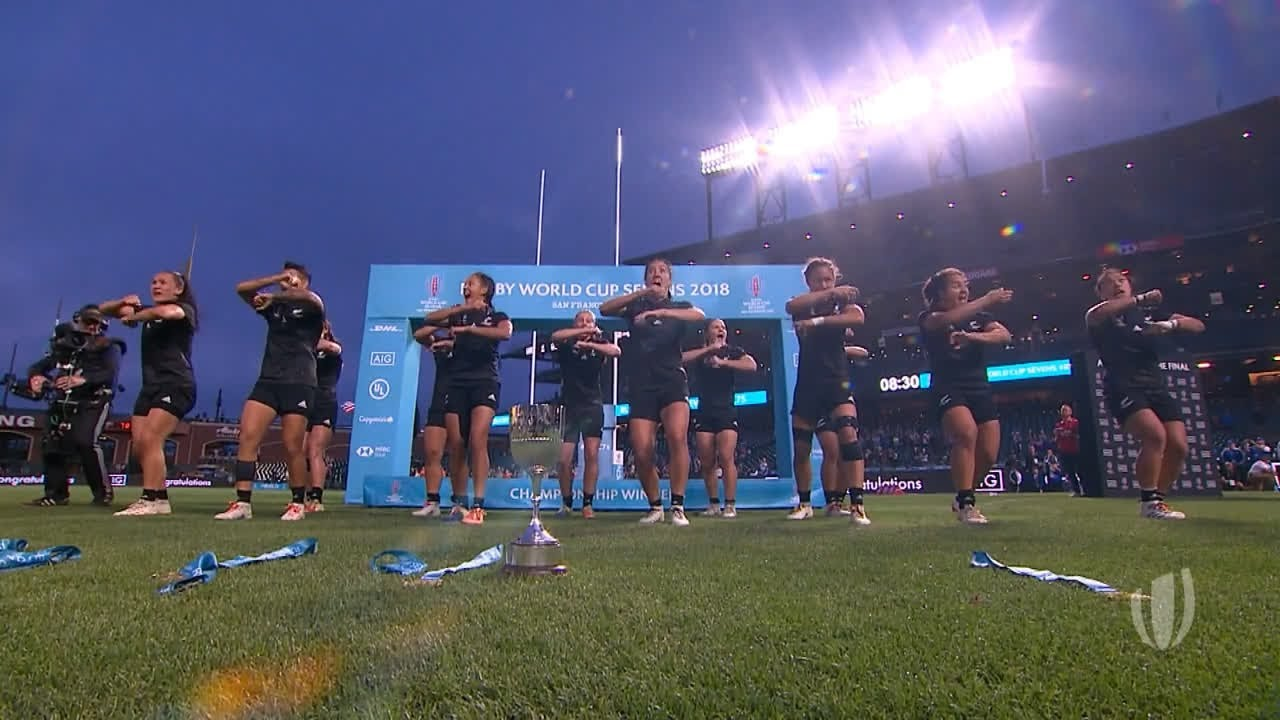 Highlights: New Zealand women's win Rugby World Cup Sevens