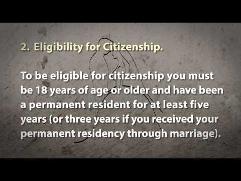 7 Steps to Becoming a U S  Citizen