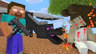 Monster School : Granny ATTACKS - Minecraft Animation