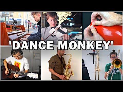 who-played-it-better:-dance-monkey-(sax,-piano,-violin,-guitar,-trombone,-balloon)