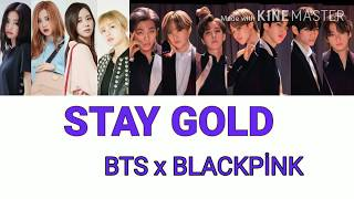 How would BTS x BLACKPİNK Sing Stay Gold - Color_Coded_Lyrics_kan_Rom_Eng (fanmade)