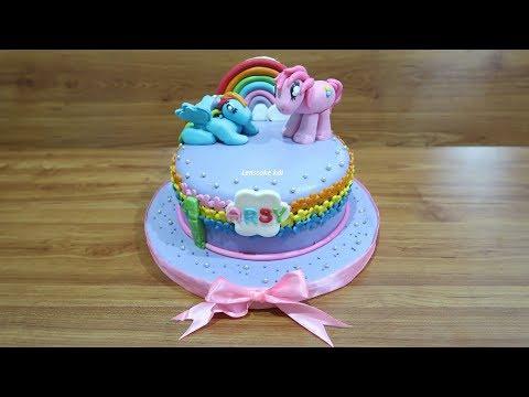 Cara Menghias Kue Ulang Tahun Kuda Poni Cantik Youtube