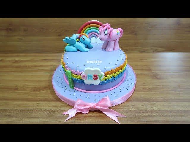 Cara Menghias Kue Ulang Tahun Kuda Poni Cantik