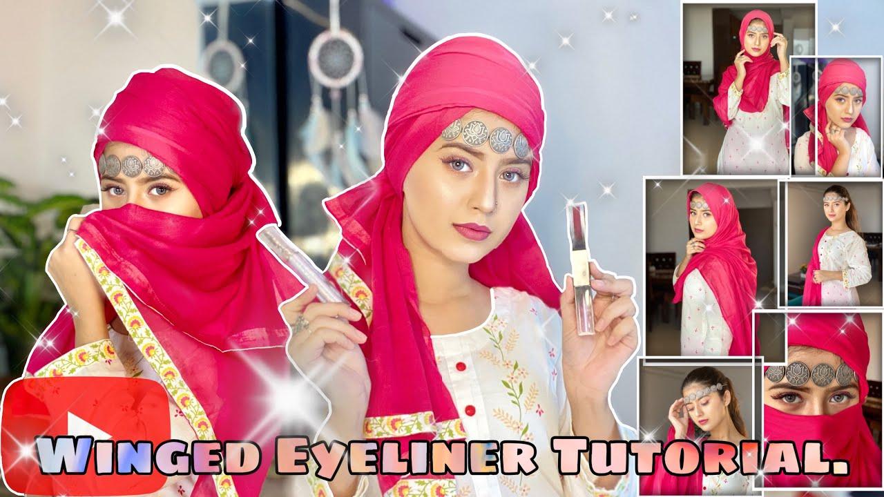 How to do winged eyeliner | Arishfa khan