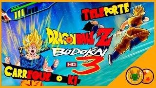 Comandos básicos Dragon ball Z Budokai 3 teleporte/Ki (tutorial)