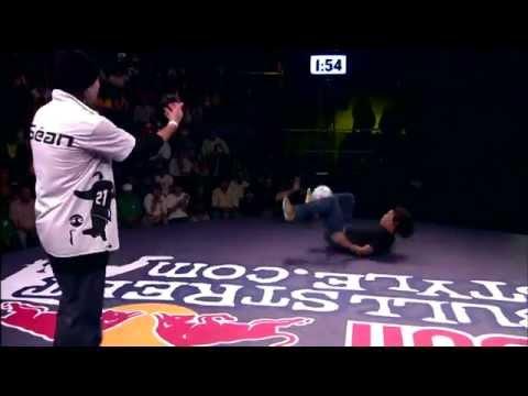 Sean garnier vs yosuke yokota in red bull street style WORLD FINAL 2008