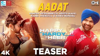 Aadat Teaser - Happy Hardy And Heer | Himesh Reshammiya, Ranu Mondal, Asees Kaur, Rabbi Shergill