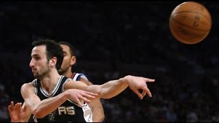 【NBA】 ジノビリの理解不能な変態プレイ集Ⅱ thumbnail
