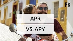 learn difference between apr and apy in 2 minutes (animated video) - Professor Savings