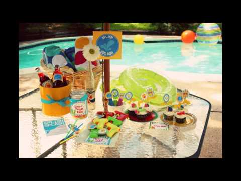 beach party decorations at home ideas