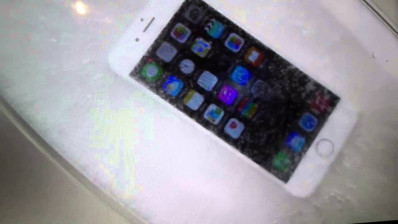 iphone keeps freezing dipping an iphone 6 in freeze test 11972