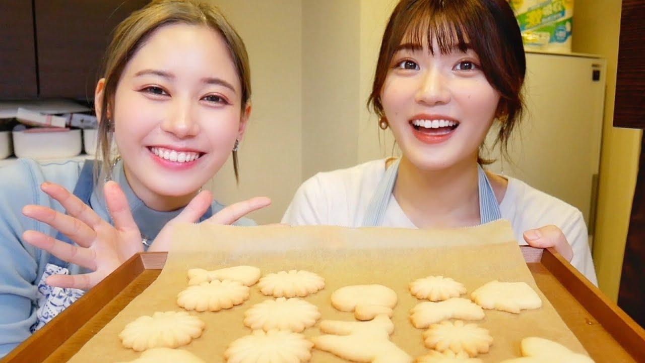 【大波乱】姉さんと一緒に簡単クッキー作り🎶のはずだった。。。【ゆきかこ】