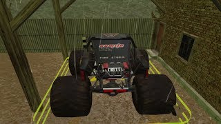 4x4 Dirt Track Forest Driving (Race Buggy+Bigboy Monster) Game