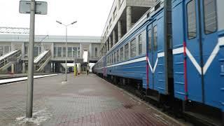 Белорусская Железная дорога, Электропоезд ЭР9М-580, сообщением ''Минск-Пассажирский''-''Осиповичи''