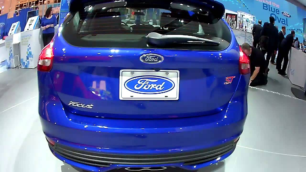 ford focus st naias 2015 ford motor company booth 1 12 15