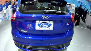 Ford Focus ST NAIAS 2015 Ford Motor Company Booth 1-12-15