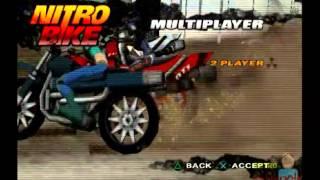 Nitro Bike PS2 Multiplayer Gameplay (UBISoft) Playstation 2
