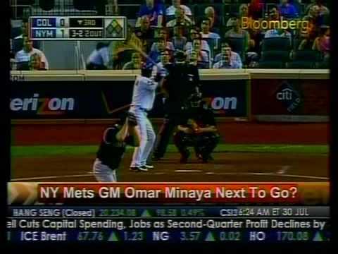 NY Mets GM Omar Minaya Next To Go? - Bloomberg