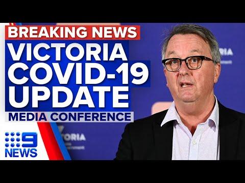 Victoria records 603 new local COVID-19 cases and one death | Coronavirus | 9 News Australia