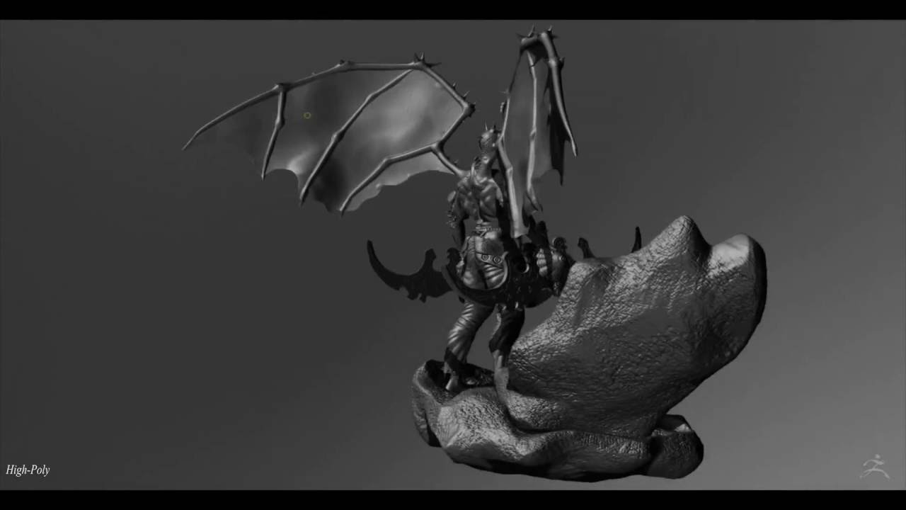 Character Design Demo Reel : Illidan demo reel by yacine brinis character creature