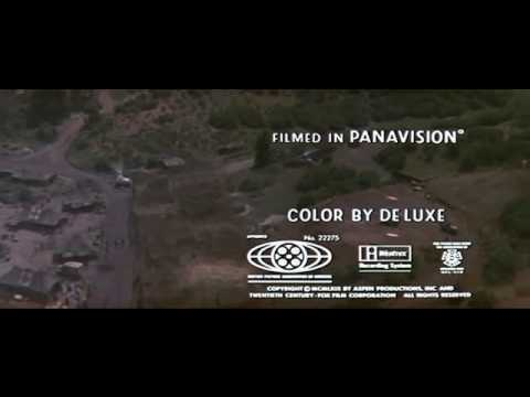 MASH film opening - suicide is painless