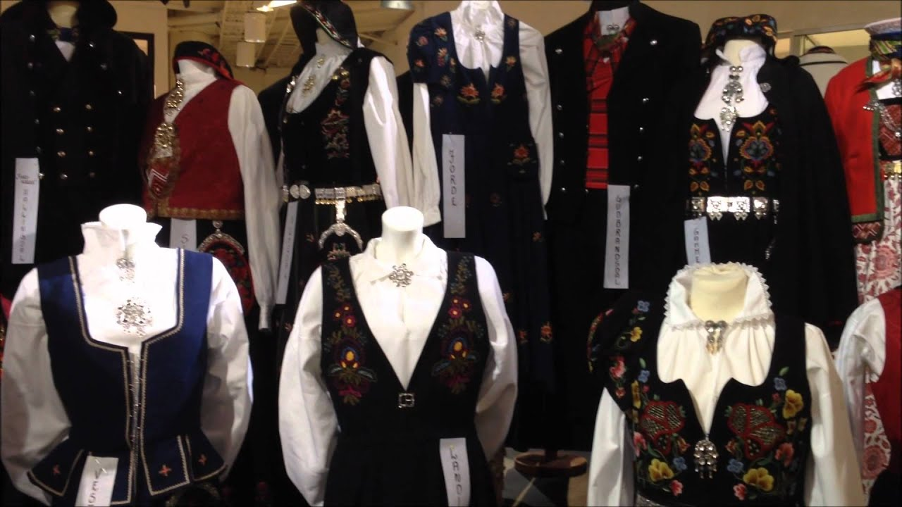 norwegian national dress at a shopping complex youtube