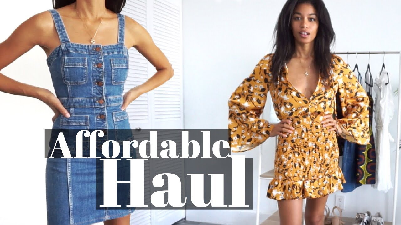 Affordable Summer Dresses Spring Zara Revolve Madewell Haul Kwshops Youtube About 0% of these are girls' clothing sets. youtube