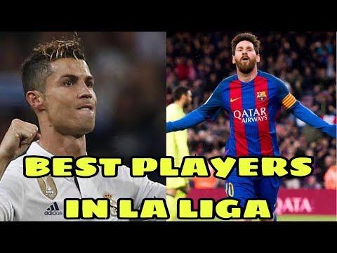 Top 10 dos Melhores Jogadores da Liga Espanhola