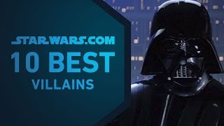 Best Star Wars Villains | The StarWars.com 10