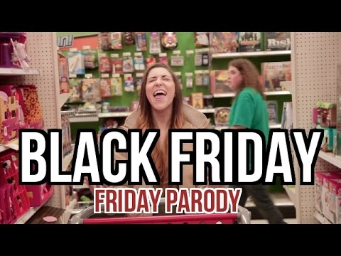 BLACK FRIDAY (Rebecca Black - Friday PARODY)
