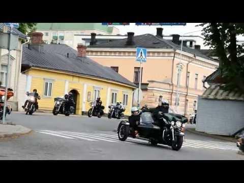 Finnish Harley Weekend in Turku 2015