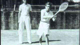 Tennis Training, 1930's - Film 3089