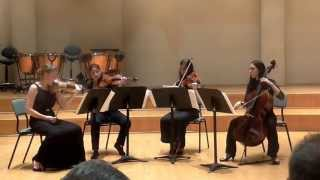 "P. Ben Haim- ""Prelude"" for string quartet 