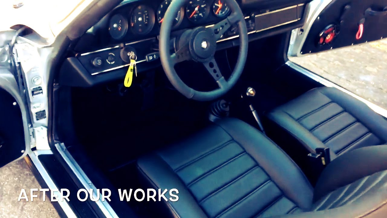 1980 Porsche 911 Sc Targa Interior Restoration Youtube