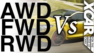 awd vs fwd vs rwd who wins xcar