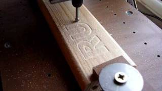 CNC Homemade Router, Milling By Dremel Graving Tool PART 3