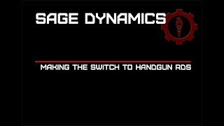 Making the Switch to Handgun RDS