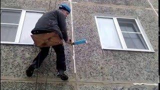 видео Герметизация швов в панельном доме