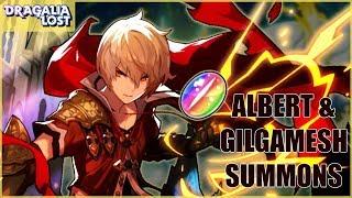 ⚡ALBERT & GILGAMESH SUMMONS!⚡ + 5 Star Ticket Summon
