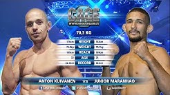 CAGE 42 Main Event: Anton Kuivanen vs Junior Maranhao Full Fight MMA