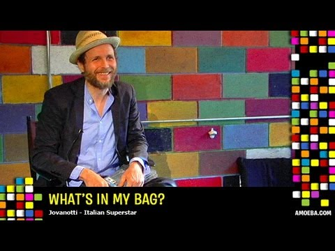 Jovanotti - What's In My Bag?