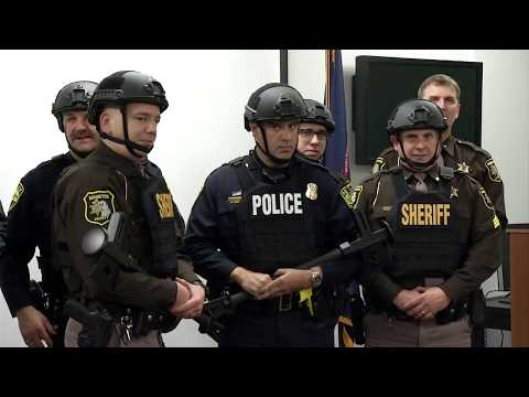 Manistee County Sheriff's Office and City Police Receive New Ballistic Gear