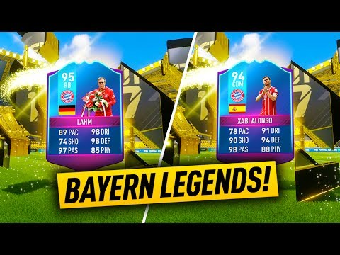 END OF AN ERA 95 LAHM & 94 XABI ALONSO SBC's!! BAYERN LEGENDS! (COMPLETED)