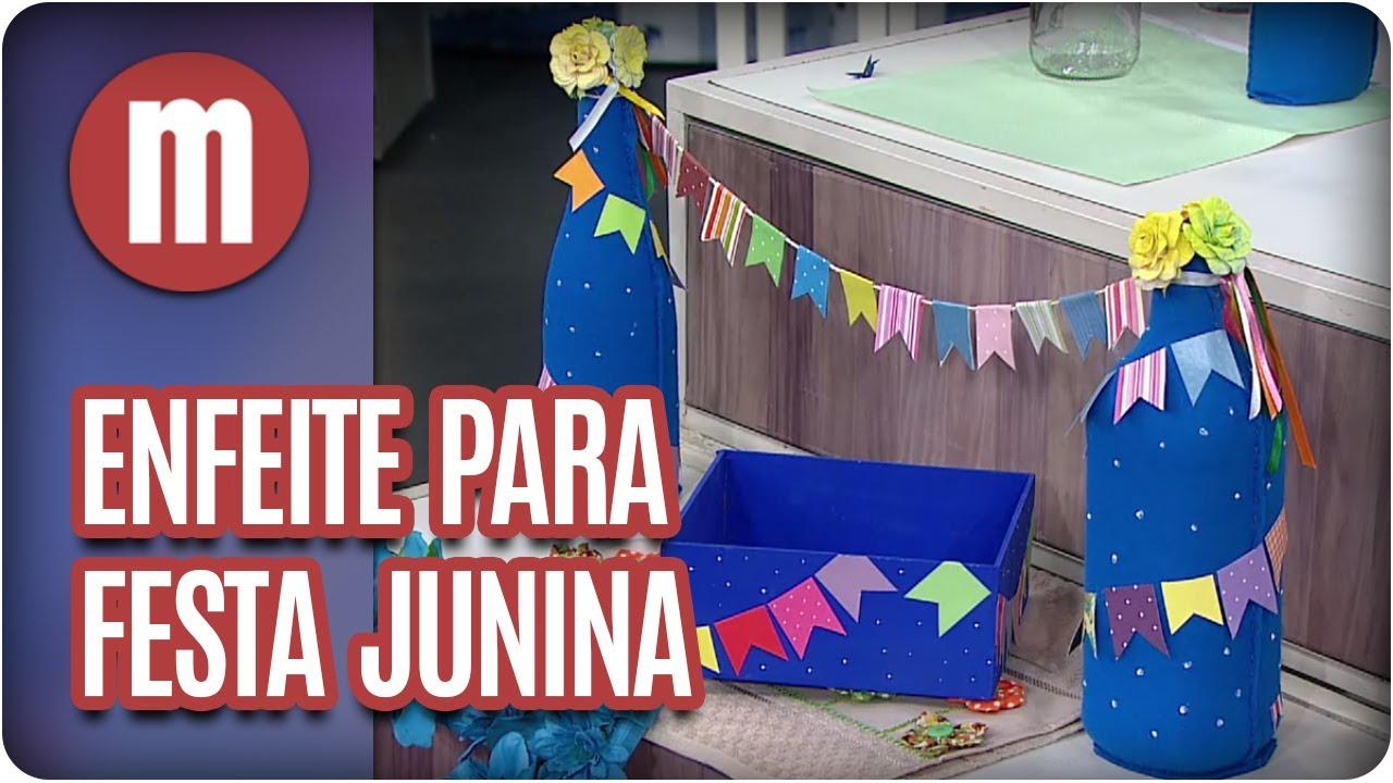 Enfeite De Mesa Festa Junina DECORAO FESTAS Enfeites De