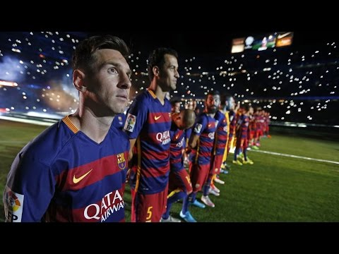 BEHIND THE SCENES - Leo Messis return to Camp Nou (season 2015/16)