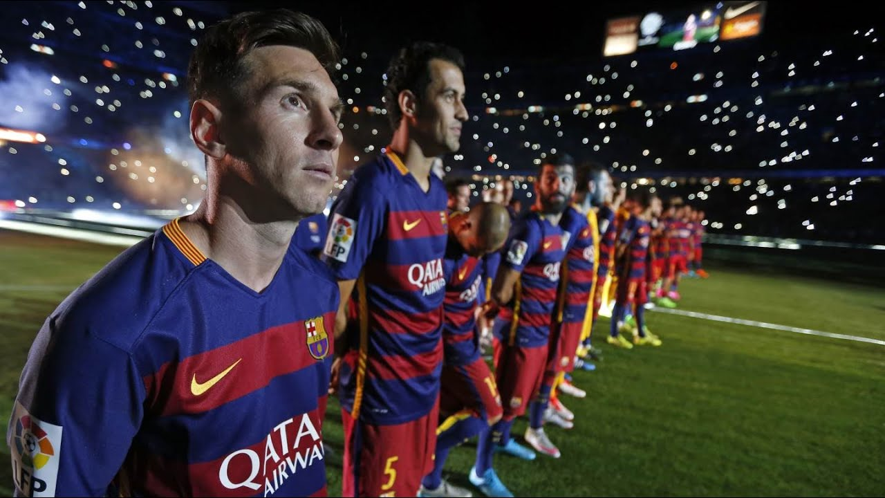 THE to Leo Nou  BEHIND Messi
