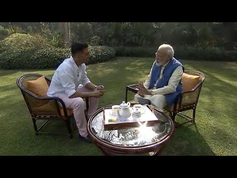 Akshay Kumar interviews Narendra Modi on things other than politics