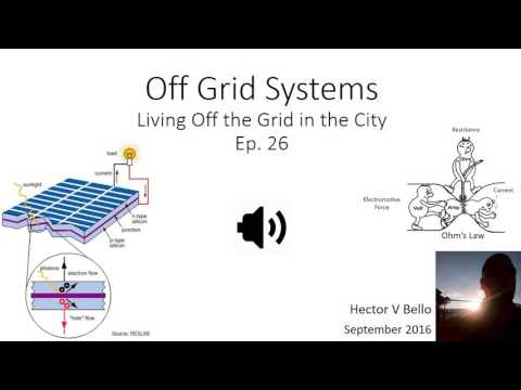 Off Grid Systems: Photovoltaics & Gas Applicances. LOTG 26
