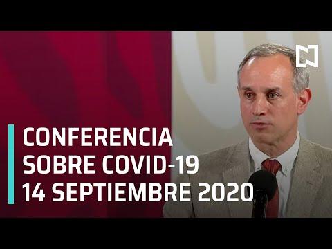 Conferencia Covid-19 en México - 14 septiembre 2020