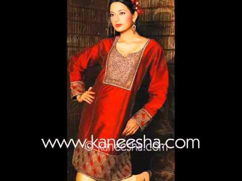 Designer Indian Kurti Tops, Plus Size Tunic Tops